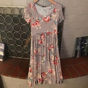 Sweet Claire Floral Dress